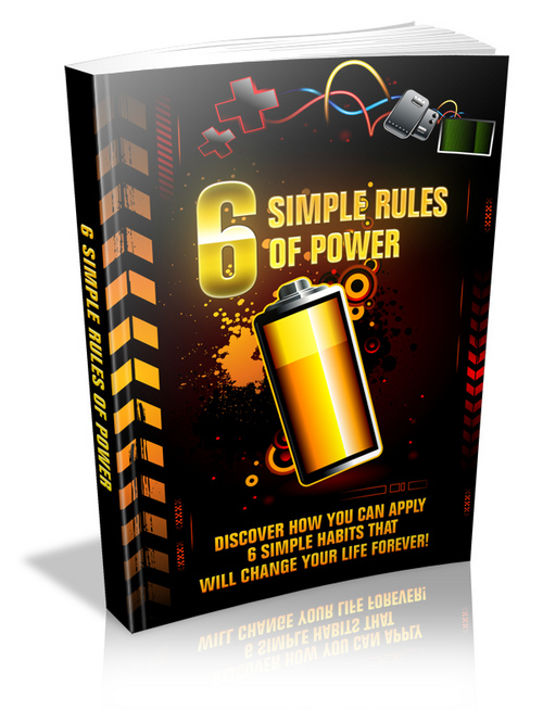 Product picture 6 Simple Rules Of Power