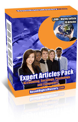 Product picture Expert article pack